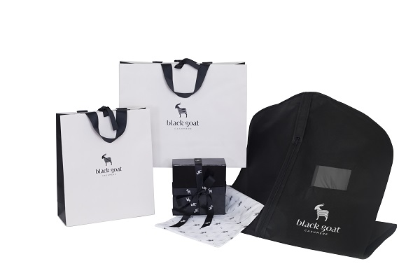 Black Goat Cashmere - Coordinated Packaging